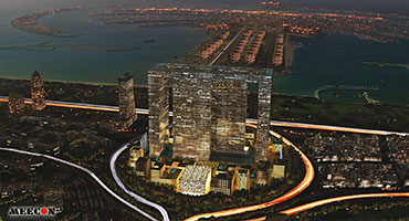 Dubai Pearl Offices and Hotel